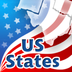 50 US States Quiz APK MOD (Unlimited Money) Varies with device
