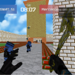 Advanced Blocky Combat SWAT APK MOD 1.28 (Unlimited Money)