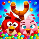 Angry Birds POP Bubble Shooter   APK MOD (Unlimited Money) 3.92.3