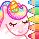 Animated Coloring for Kids – Unicorn and Princess APK MOD (Unlimited Money) 1.3.0