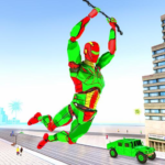 Army Robot Rope hero – Army robot games APK MOD (Unlimited Money) 2.0