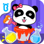 Baby Panda's Color Mixing Studio APK MOD (Unlimited Money) 8.48.00.02