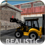 Backhoe Loader: Excavator Simulator Game APK MOD (Unlimited Money) 1.12