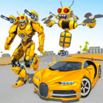 Bee Robot Car Transformation Game: Robot Car Games APK MOD (Unlimited Money) 2.24