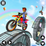 Bike Stunt Impossible Tracks APK MOD (Unlimited Money) 1.0.11