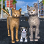 Cat Family Simulator: Stray Cute Kitty Game APK MOD (Unlimited Money) 10.1