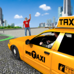 City Taxi Driving simulator: PVP Cab Games 2020   APK MOD (Unlimited Money) 1.53