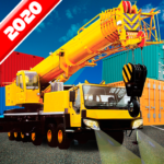 Crane Real Simulator Fun Game 2020 APK MOD (Unlimited Money) 1.06