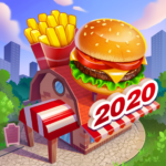 Crazy Chef Food Truck Restaurant Cooking Game  APK MOD (Unlimited Money) 1.1.53