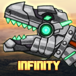 Dino Robot Infinity : Dinosaur Battle Game APK MOD 2.2.3  (Unlimited Money)
