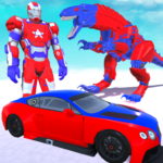 Dinosaur Robot Transform: Car Robot Transport Sim APK MOD (Unlimited Money) 1.9