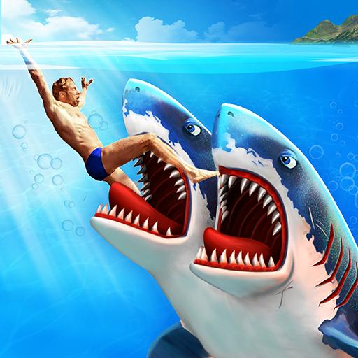 Double Head Shark Attack – Multiplayer APK MOD 8.6  (Unlimited Money)