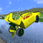 Extreme Crash Car Driving APK MOD (Unlimited Money) 1.045