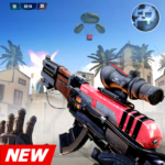 FPS Air Shooting : Fire Shooting action game APK MOD (Unlimited Money)