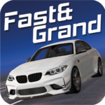 Fast&Grand – Car Driving Simulator APK MOD (Unlimited Money) 3.98