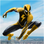 Flying Spider Rope Hero – Super Vice Town Crime APK MOD (Unlimited Money) 1.0.25