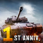 Furious Tank: War of Worlds_1st Anniversary APK MOD (Unlimited Money) 1.1.31
