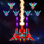 Galaxy Attack: Alien Shooter APK MOD (Unlimited Money) 23.1