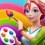 Gallery: Coloring Book by Number & Home Decor Game APK MOD (Unlimited Money) 0.202