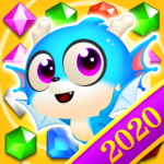 Jewel Blast Dragon – Match 3 Puzzle APK MOD (Unlimited Money) 1.19.10