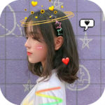 Live face sticker sweet camera APK MOD (Unlimited Money) 1.2.2020