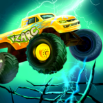 Mad Truck 2 — physics monster truck hit zombie APK MOD (Unlimited Money) 3.71.25