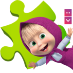 Masha and The Bear Puzzle Game APK MOD (Unlimited Money) 2.2