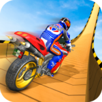 Mega Ramp Moto Bike Stunts: Bike Racing Games APK MOD (Unlimited Money) 2.3.8