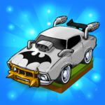 Merge Muscle Car Classic American Cars Merger   APK MOD (Unlimited Money) 2.3.1