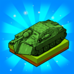 Merge Tanks Awesome Tank Idle Merger   APK MOD (Unlimited Money) 2.3.8