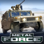 Metal Force PvP Battle Cars and Tank Games Online  APK MOD (Unlimited Money) 3.47.9