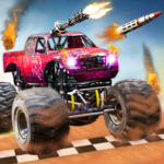 Monster Truck Death Race 2019: Car Shooting Games APK MOD (Unlimited Money) 2.8