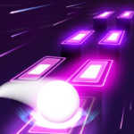 Neon Tiles Hop Color Ball : Forever Dancing Ball APK MOD (Unlimited Money) 1.1