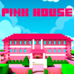 Pink Princess House Craft Game APK MOD (Unlimited Money) 1.1.18