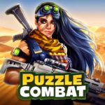 Puzzle Combat: Match-3 RPG  APK MOD (Unlimited Money) 32.0.0