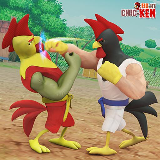 Rooster Fighting : Kung Fu Chicken Battle APK MOD (Unlimited Money) 1.0.9