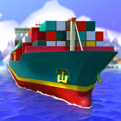 Sea Port: Ship Games & Transport Tycoon Strategy  APK MOD (Unlimited Money) 1.0.186
