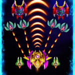 Space attack – infinity air force shooting APK MOD (Unlimited Money) 1.4.7