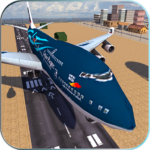 Take off Airplane Pilot Race Flight Simulator APK MOD (Unlimited Money) 1.0