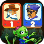 Two guys & Zombies (two-player game) APK MOD (Unlimited Money) 1.1.3