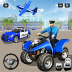 US Real Police Plane Limo Car Transporter Driving APK MOD (Unlimited Money) 1.3