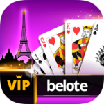 VIP Belote – French Belote Online Multiplayer APK MOD (Unlimited Money) 3.5.29