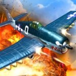 Air Combat Pilot: WW2 Pacific APK MOD (Unlimited Money) 1.10.010