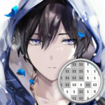 Anime Boy Color By Number APK MOD (Unlimited Money) 3.1