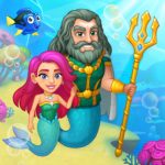 Aquarium Farm: fish town, Mermaid love story shark APK MOD (Unlimited Money) 1.33