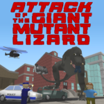 Attack of the Giant Mutant Lizard APK MOD (Unlimited Money)