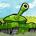 Awesome Tanks APK MOD (Unlimited Money) 1.208