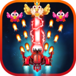 Chicken Shooter Free : Galaxy war APK MOD (Unlimited Money) 1.4
