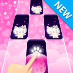 Dream Cat Piano Tiles: Free Tap Music Game APK MOD (Unlimited Money) 1.4.3