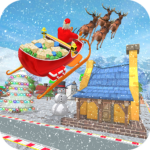 Flying Santa Gift Delivery: Christmas Rush 2020 APK MOD (Unlimited Money) 1.1